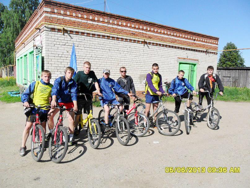 Участники велопохода 2013г.